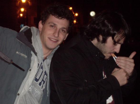 our amigos Álvoro and Vidal