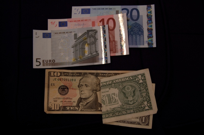 Monopoly money or paper Euros?