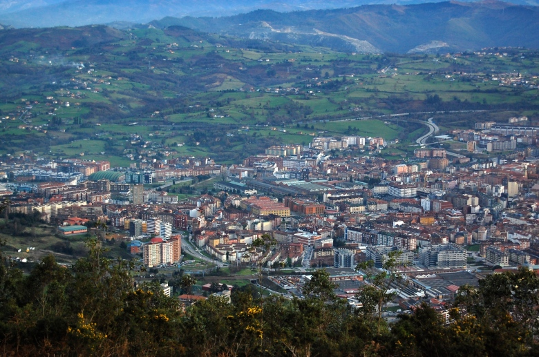 Oviedo from above