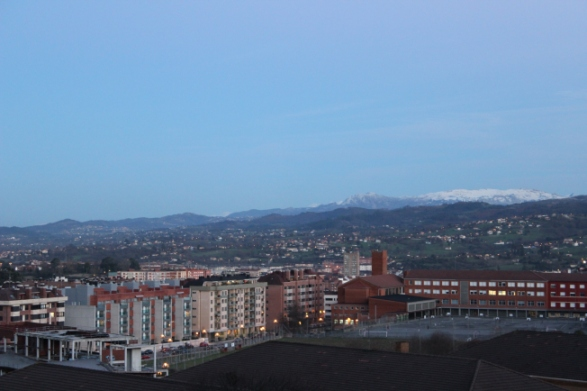 I couldn't get a photo of the events that followed.  Here is a picture of Oviedo instead.