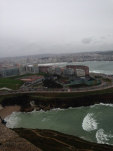 View from the Tower of Hercules.